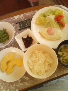 朝食です!